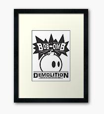 Bob-Omb Demolition Framed Print