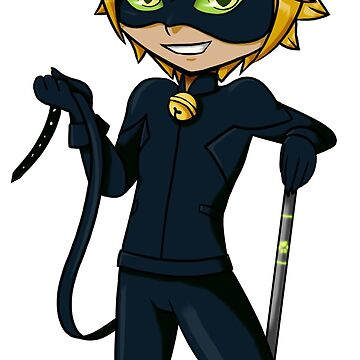 Chat Noir Chibi by gnhpinn