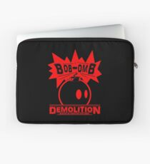 Bob-Omb Demolition red Laptop Sleeve