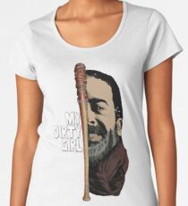Look at my dirty girl Women's Premium T-Shirt