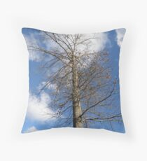 Leafless Throw Pillow