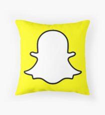 Snapchat (Logo) Bodenkissen