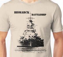 Bismarck Battleship Unisex T-Shirt