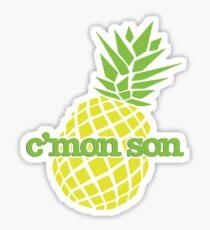 C'mon Son Sticker
