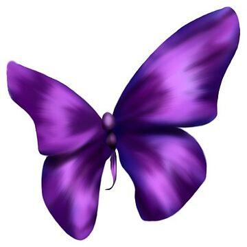 Purple Butterfly by karlajkitty
