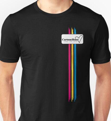 Cartoon Heart Paint Shirt - Classic T-Shirts & More (Dark) T-Shirt