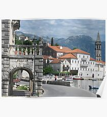 Perast - an Adriatic gem. Poster