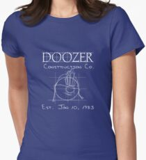 Doozer Construction Co. Women's Fitted T-Shirt