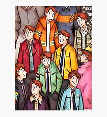 Dirk Gently Jacket Pattern Photographic Print