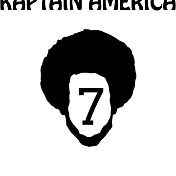 Kaptain America T-Shirt by AlienFrogTees