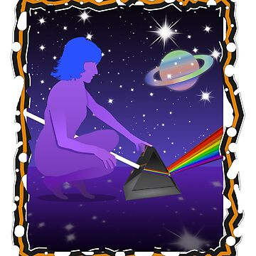 The Purple Woman... She Sits and Touches the Prism by 1UpJumpman