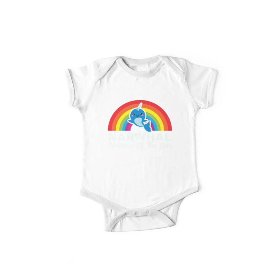 afb5cfd53 Narwhal. Unicorn Of The Sea! Cute Kawaii Whale T-Shirt