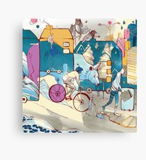 Parade Canvas Print