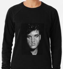 Elvis drawing Lightweight Sweatshirt