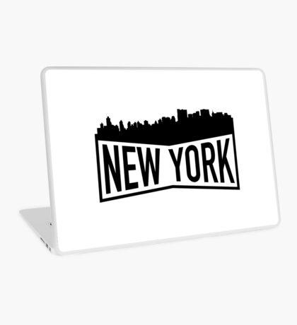 New York Cityscape Laptop Skin