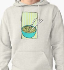 Cheesy Ramen Geo Soup Pullover Hoodie