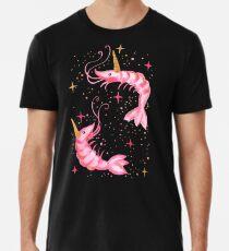 Uni-Prawn In Space - Black Men's Premium T-Shirt