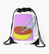 Spaghetti Soup Drawstring Bag