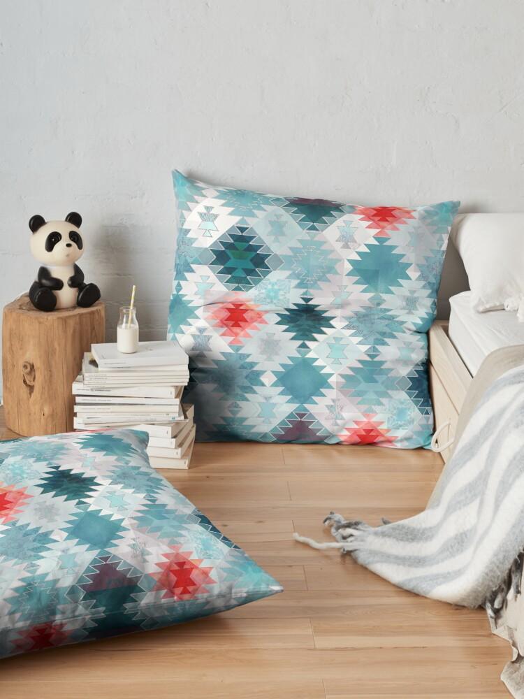 Alternate view of Soft Kilim Floor Pillow