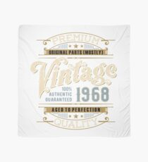 Birthday 50 Design: Vintage Scarf
