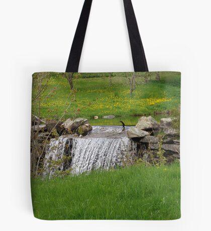 Dandelion Falls Tote Bag