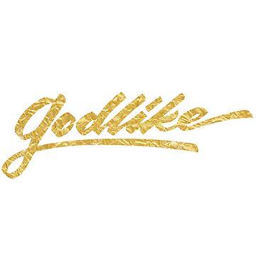 Godlike (gold) by kenova23