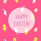Happy Easter! (Pink) by Prettyinpinks