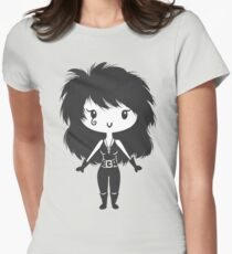 Death - Lil' CutiE Womens Fitted T-Shirt