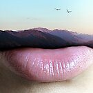 Your Words Move Mountains by Monica Carvalho (mofart_photomontages)
