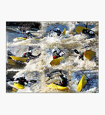 Kayak Mania  Photographic Print