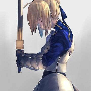 Saber Fate Stay night by AlexTrpmn