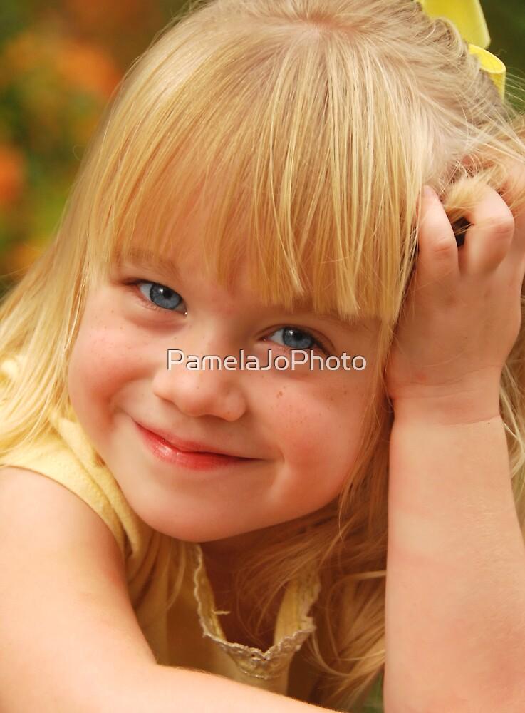 Blue Eyed Princess by PamelaJoPhoto