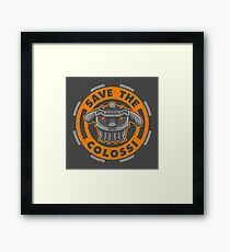 Save the Colossi Framed Print