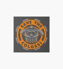 Save the Colossi Art Board