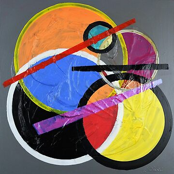 Circles and lines Abstract 322 by artsale
