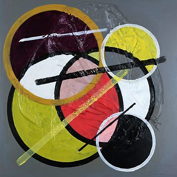 Circles and lines Abstract 328. by artsale