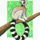 Chillin' In Madagascar by Allison Frink