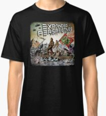 Expanded Perspectives Podcast aliens bigfoot conspiracies big foot sasquatch pyramids ancient america history cryptid crypto monster illuminati egypt Classic T-Shirt