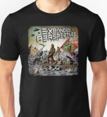 Expanded Perspectives Podcast aliens bigfoot conspiracies big foot sasquatch pyramids ancient america history cryptid crypto monster illuminati egypt Unisex T-Shirt