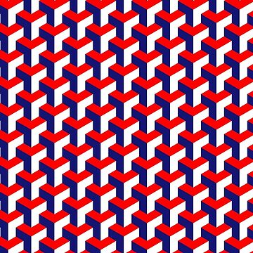Patriot Cube Pattern by PinkFoxDesigns