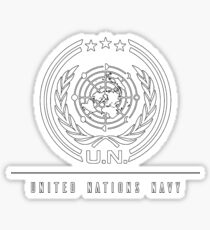 United Nations Navy - The Expanse Sticker