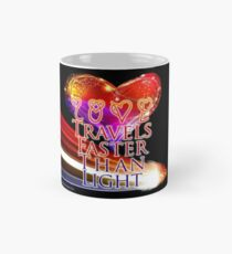Love Travels Faster Than Light Mug