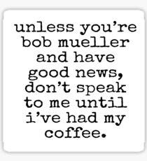 Coffee & Mueller Sticker