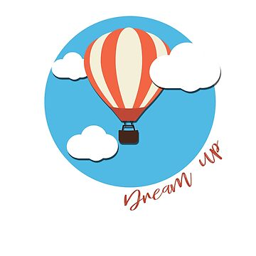 Balloon Dream Up Cute T-shirt by LuxurySeller