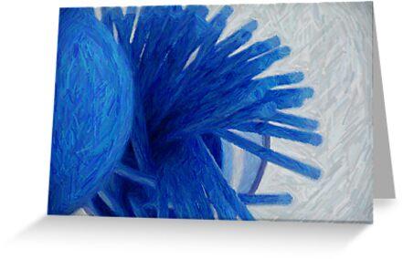 Blue straws by NicPW