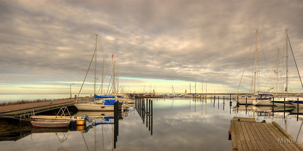 Falsterbo Harbor Sweden by Minne