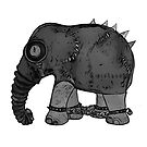 Elephant in chains by voomoo