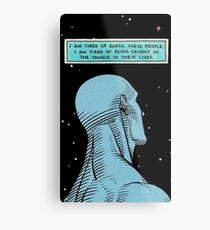Dr. Manhattan Metal Print