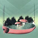 Fishing for Mushrooms von schwebewesen