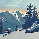 Mountain Sunrise (Pause II) von schwebewesen